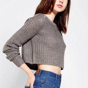 Kimchi Blue Anthropologie Cropped Sweater Sz small